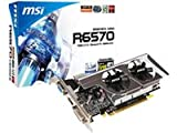 MSI R6570-MD1GD3/LP Graphics Card AMD 1,024 MB / Radeon HD / 6570 / 650 MHz / PCI-Express 16x