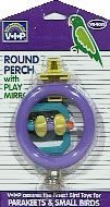 Cheap Vo-Toys Rounded Perch with Mirror and Bell Bird Toy (814-75540)