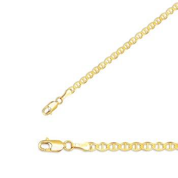 7-10k-yellow-gold-450mm-3-16-polished-edged-marina-link-chain-w-lobster-clasp