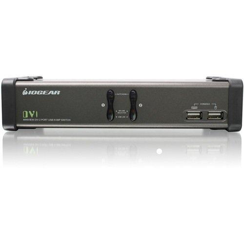2port Dvi Kvmp Switch W/ Cables Usb Console Peripherals Audio