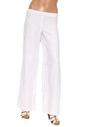 Women's Bailey 44 Tito Puentes Linen Pant in White Size XS
