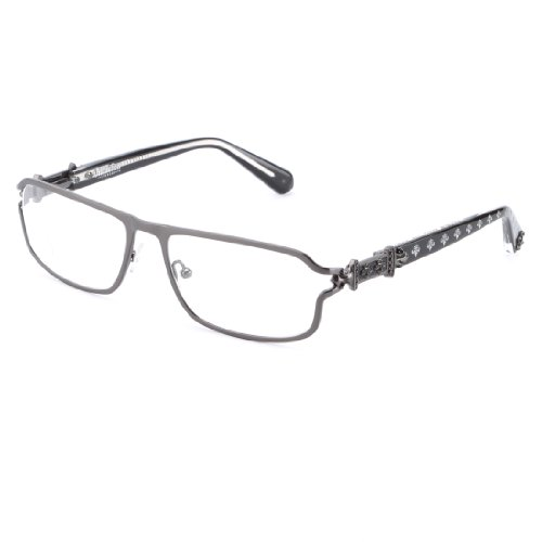 Affliction MAXIMUS Designer Eyeglasses - Black/ANT.Gun