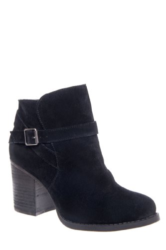 Chinese Laundry Bubble Chunky High Heel Saddle Bootie