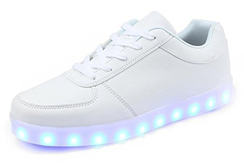 KaLeido-Unisex-USB-Charging-7-Colors-LED-Sport-Shoes-Flashing-Fashion-Sneakers-Light-Up-Sport-Shoes
