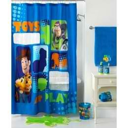 Disney Pixar Toy Story 72 x 72 Microfiber Shower Curtain