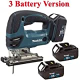 MAKITA BJV180RFE3 18V Cordless Jigsaw - 3 Battery Version