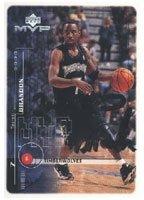 Terrell Brandon Minnesota Timberwolves 1999 Upper Deck MVP Autographed Hand Signed...
