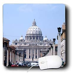 Vacation Spots - Saint Peters The Vatican - Mouse Pads