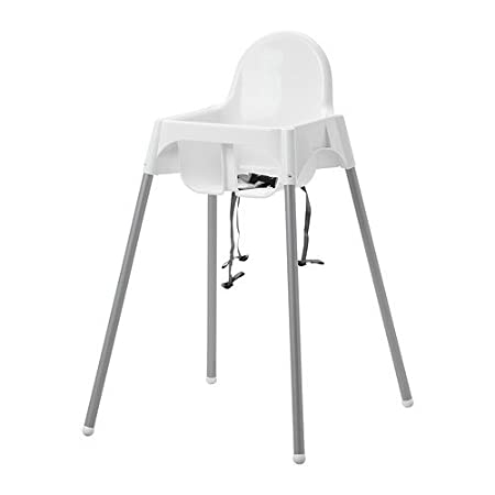 Ikea Kinderhochstuhl Antilop Babystuhl In Weiss Mit