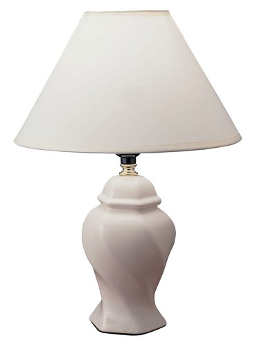 Cheap Ore International 15 Ceramic Accent Table Lamp – Ivory