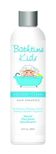Bathtime Baby Squeeky Clean Shampoo, 8.5 Ounce