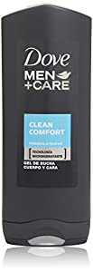Dove Men+Care Clean Comfort Body & Face Wash 400ml