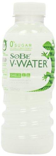 Sobe V Water Shield Lemon and Lime Bottle 500 Ml (Pack of 12)