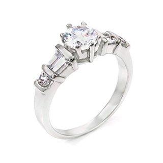 Annette's Faux Diamond CZ Promise Ring - 5