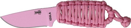 Esee Izula Knife Pink With Sheath Izula-P Pink Paracord