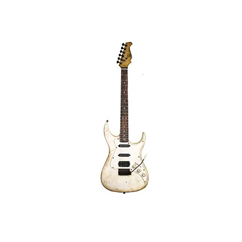 Axl Badwater Sro - Off White Antique 3/4 Size 6-String Electric Guitar
