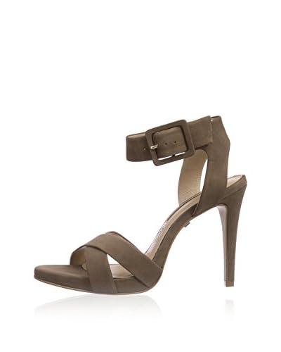 Buffalo London Sandalo Con Tacco ZS 3085 [Marrone]