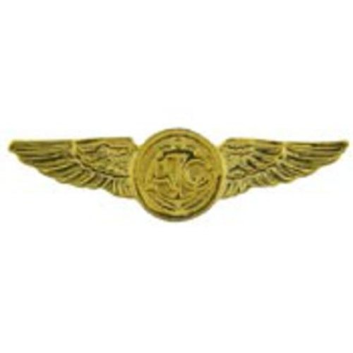 U.S. Navy Aircrew Pin Gold Plated 1 1/2
