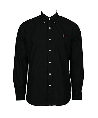 Ralph Lauren -  Camicia Casual  - Con bottoni  - Uomo Black Medium