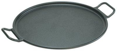 Lodge Mfg P14P3 Cast-Iron Pizza/Bake Pan, Pre-Seasoned, 14-In. Diam.