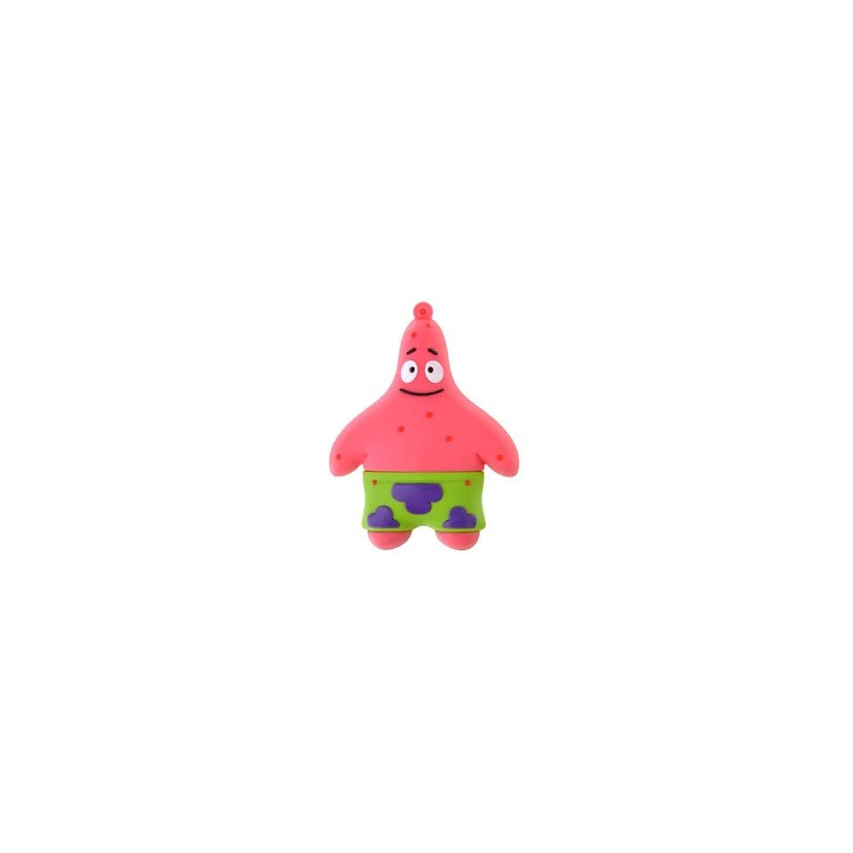 8GB Lovely Patrick Star USB Flash Drive Cartoon Flash Memory U Disk (Pink)