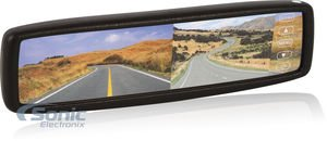 """Crimestopper Sv-9153 4.3"""" Oem Replacement-Style Rear View Mirror Monitor"""