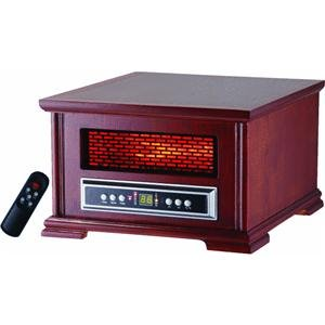 Lifesmart Compact Power Plus 800 Square Feet Infrared Heater w/Wood Cabinet Includes remote image B009833FY8.jpg