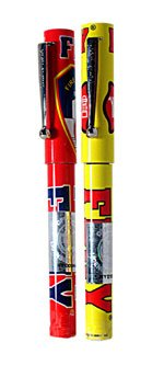 FDNY PEN WITH CAP (2 COLORS)