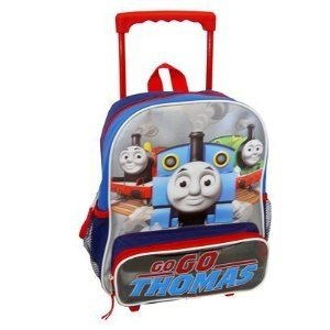 Toddler Thomas Friends Rolling Backpack