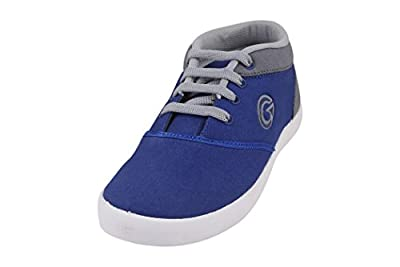 Globalite Women's Casual Shoes Sporty R. Blue Gery GSC1160 UK/UN