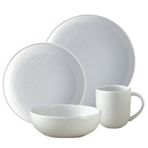 Jamie Oliver 16 Piece White China Starter Set