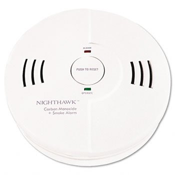 Battery Powered Night Hawk Combination Smoke/CO Alarm with V