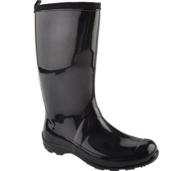 Kamik Women's Heidi Rain Boot,6,Black
