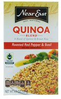 Near East Quinoa Blend Roasted Red Pepper & Basil -- 4.9 Oz