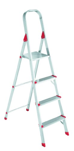 Louisville Ladder L2346-03 200-Pound Duty Rating Euro Aluminum Platform Ladder, 3-Foot
