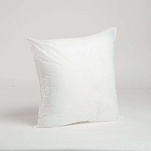 "Best Buy! Foamily Premium Hypoallergenic Stuffer Pillow Insert Sham Square Form Polyester, 18"" ..."