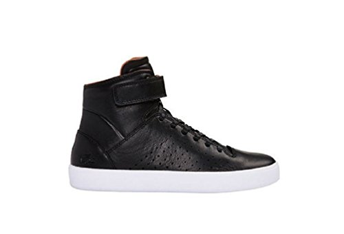 Lacoste Women's Tamora Hi 116 2 High Top Sneaker,black Leather (9)