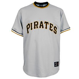 Pittsburgh Pirates Cooperstown Collection Throwback Replica Jersey by The Pittsburgh Fan