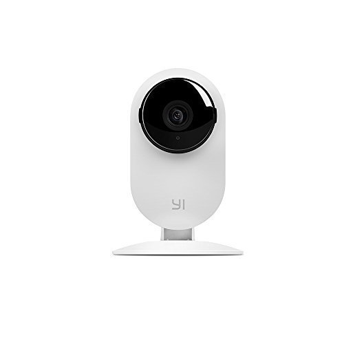 YI Home Camera (Official U.S. Edition) – HD Wireless Camera Video Monitor IP/Network Surveillance/Home security, 720p, Night Vision, Motion Detection & Alerts-White
