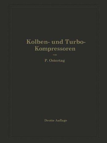 Kolben-und-Turbo-Kompressoren-Theorie-und-Konstruktion