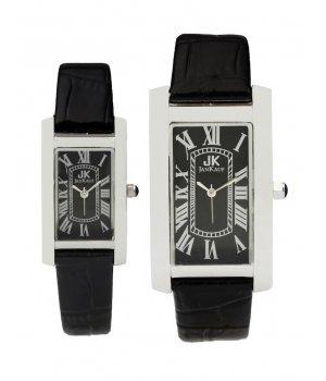 Jan Kauf Luxury Mens Ladies Couples Gift Set Stainless Steel Watches - JK1015C