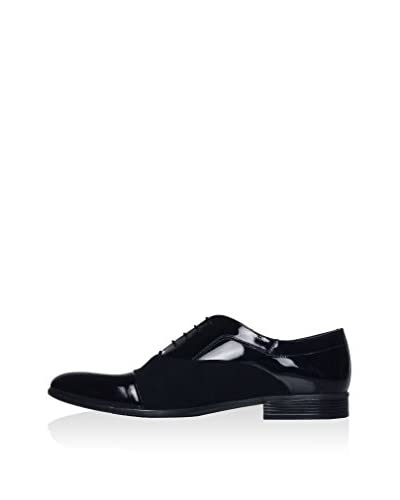 Mister Coben Zapatos Oxford Negro