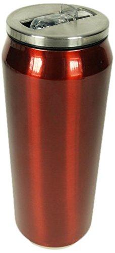 Yoko Design 1297 Canette Isotherme Inox Rouge Métallisé 19 cm