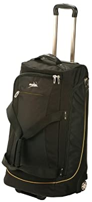 Vango Platinum Roller Wheeled Travel Luggage - Black, 60 lt by Vango