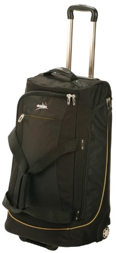 Vango Platinum Roller Wheeled Travel Luggage - Black, 60 Litre