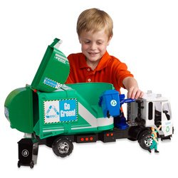 Amazon.com: Tonka Titan Go Green Garbage Truck: Toys & Games