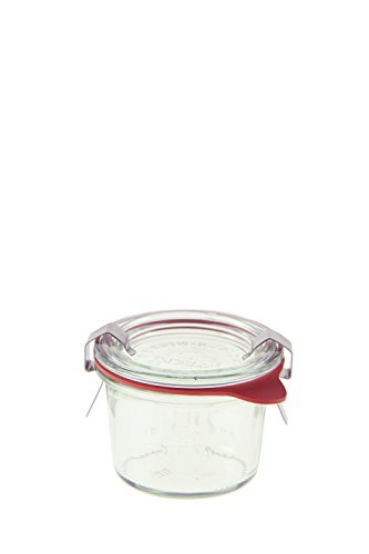 Weck 080 Mini Mold Jar, 2.7 Ounce - Set of 12