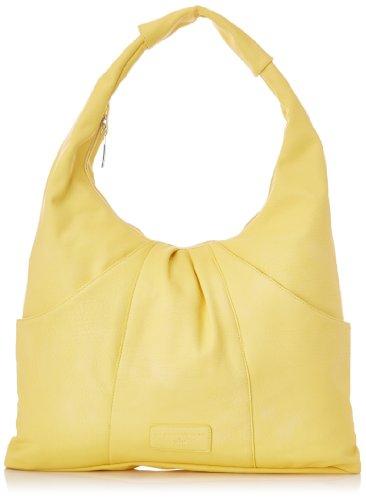 Rue Princesse - Borsa Rp114lydie.u800 Donna, Giallo (Jaune (Soft Yellow Pu 809C)), Taglia unica