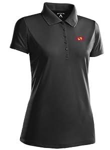 Arizona State Ladies Pique Xtra Lite Polo Shirt by Antigua
