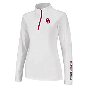 Oklahoma Sooners Ladies Performance Long Sleeve Pullover by Colosseum